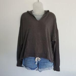 Gray Workshop Hooded Sweatshirt - US L
